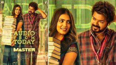Ahead of Master Audio Launch, Here's a Still of Malavika Mohanan with Thalapathy Vijay (View Pic)
