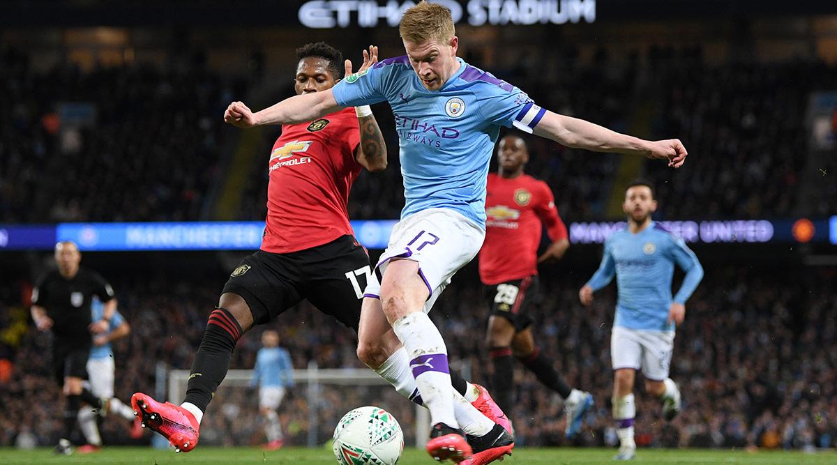 Manchester United vs Manchester City, Premier League 2019 ...