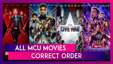 From Captain America To Black Widow, Right Order To Watch MCU Movies