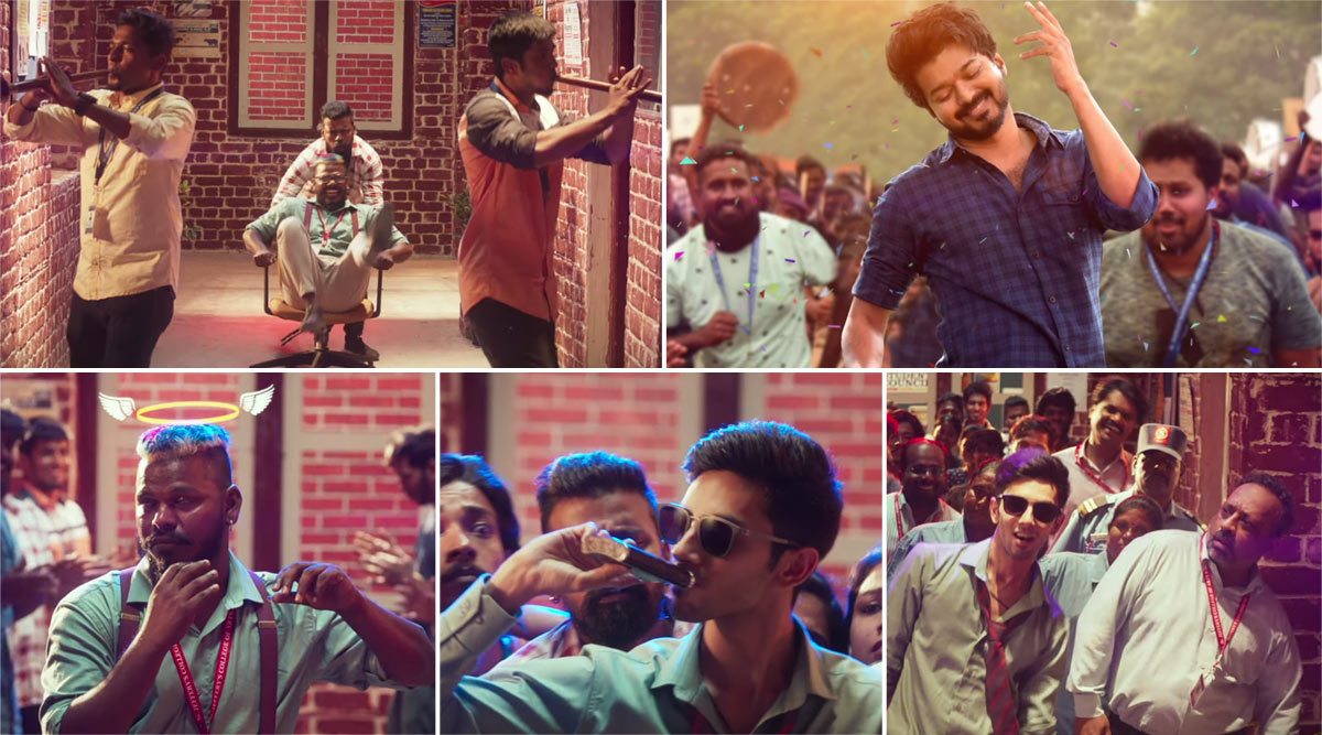 master song vaathi coming thalapathy vijay anirudh ravichander dance heart