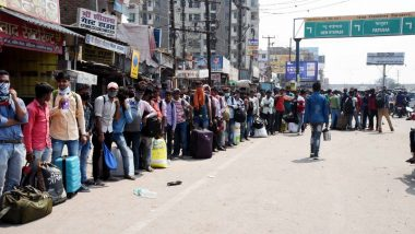 Maharashtra Govt Sets Up Relief Camps for Migrant Workers Affected by COVID-19 Lockdown