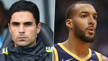 Coronavirus Outbreak: From Arsenal Manager Mikel Arteta to NBA Player Rudy Gobert, Here's A List of Sports Personalities Who've Tested Positive for COVID-19