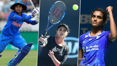 International Women's Day 2020: Mithali Raj, Sania Mirza, PV Sindhu and Other Female Sports Personalties Who Made India Proud
