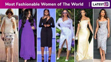 International Women's Day 2020: Michelle Obama, Beyonce, Rihanna, Priyanka Chopra, Anna Wintour, Victoria Beckham, Meghan Markle, Queen Rania Al Abdullah, Gigi Hadid and Kim Kardashian Are Changing the Game, One Brilliant Ensemble at a Time!