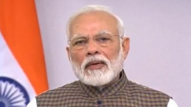 PM Narendra Modi to Share Video Message with Nation Today at 9 Am