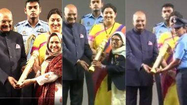 Nari Shakti Puraskar 2020: From Mann Kaur to Arfa Jan And Bina Devi, Full List of Females Who Received The Honour on International Women's Day