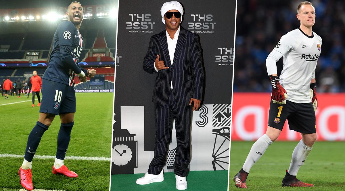 Neymar Jr, Ronaldinho, Marc-Andre Ter Stegen and Other Professional Footballers Who Don't Like Football