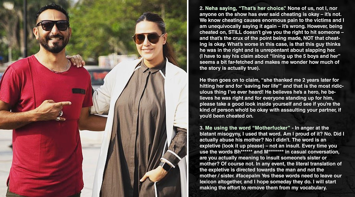 MTV Roadies Real Heroes: After Neha Dhupia, Nikhil Chinapa Issues A Clarification, Tells Trolls 'I Don't Hate You' (View Post)