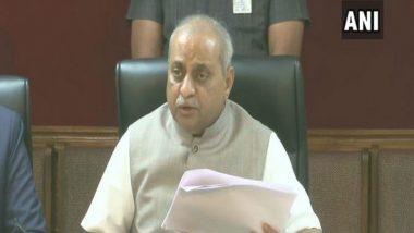 Gujarat: Congress MLA Virji Thummar Offers Chief Minister Post to State's Deputy CM Nitin Patel If He Leaves BJP