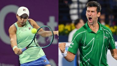 Latest Tennis Rankings 2020: Ashleigh Barty and Novak Djokovic Remain on Top in List