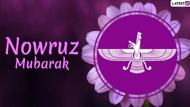 Happy Nowruz 2020 Wishes: Send WhatsApp Stickers, Navroz Mubarak Messages, Hike Images, GIFs and SMS Templates on Persian New Year