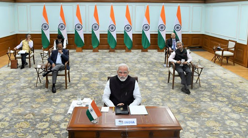 G20 Virtual Summit 2020 on Coronavirus: PM Narendra Modi Calls for 'Open Sharing of Medical Research for Development of Humankind'