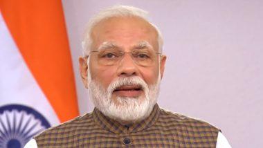 PM Narendra Modi Video Message: 'Countrymen Showing Unprecedented Discipline and Sense of Service During COVID-19 Lockdown,' Says Prime Minister