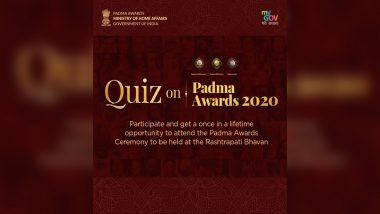 PM Narendra Modi Tweets on 'Padma Quiz', Winner to Witness Padma Awards 2020 Ceremony Live at Rashtrapati Bhavan