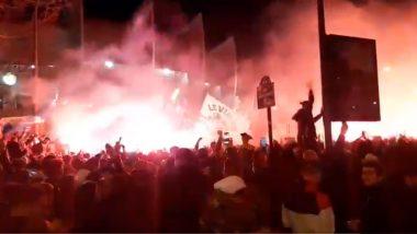 PSG Fans Clash With Paris Police After Champions League Final Defeat, 148 People Arrested