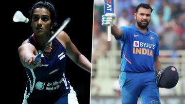 PV Sindhu Wins TOISA Sportsperson of the Year Award, Rohit Sharma Named Cricketer of the Year