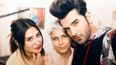 Bigg Boss 13's Mahira Sharma Meets Bestie Paras Chhabra's Mother, Has Mommy Chhabra Approved of The Pairing?