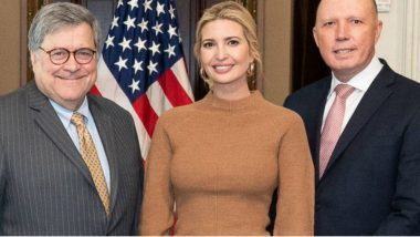 Australian Home Affairs Minister Peter Dutton Tests Positive For COVID-19, Had Met Ivanka Trump and US Attorney General William Barr Last Week