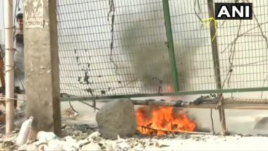 Petrol Bomb Hurled Near Shaheen Bagh Protest Site in Delhi During Janata Curfew