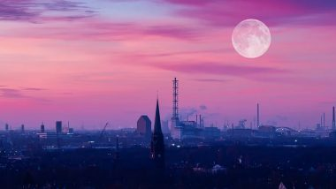 Super Pink Moon 2020 Date and Time: Know Everything About April's Full Moon, The Brightest One of This Year