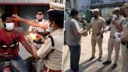From Performing Aarti to Giving Flowers, Here's How Police Personnel Are Dealing With Coronavirus Lockdown Violators (Watch Viral Videos and Pics)