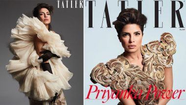 Trending on Tatler! Priyanka Chopra Jonas Packs a Fashionable Punch on the Mag's May Issue and It's Breathtaking (View Pics)
