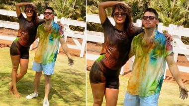 Nick Jonas' First Holi Was Extremely Special and Fun-Filled! Checkout the Pic That Priyanka Chopra Jonas Shared on Instagram