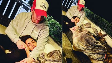 Priyanka Chopra, Nick Jonas and Their Pet Are 'Staying At Home' And So Should You! (View Pic)