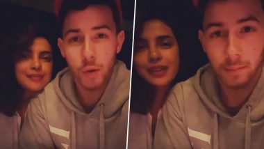 Priyanka Chopra and Nick Jonas Send 'Positive Vibes' To Fans Amid Coronavirus Outbreak (Watch Video)