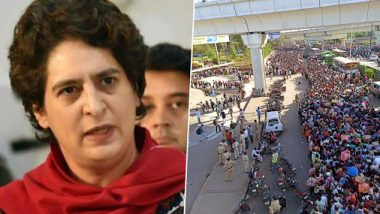 Priyanka Gandhi Writes to Telecom Chiefs Amid COVID-19 Spread, Asks Them to Make All Calls Free for 1 Month For Migrant Labourers