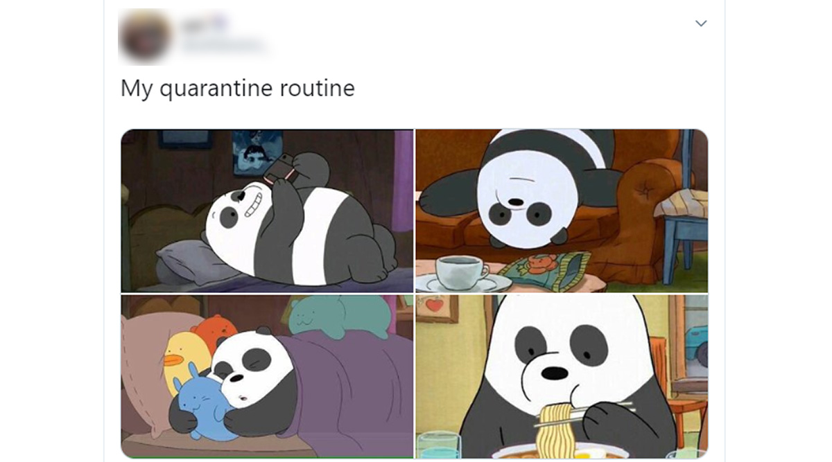 Quarantine Routine Trends on Twitter, Netizens Share How They Spend Time Social Distancing and Some of Them Are Hilarious