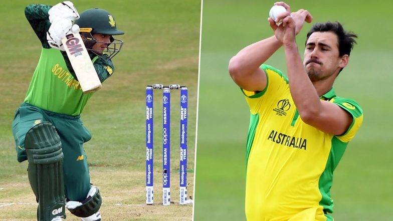 Quinton de Kock vs Mitchell Starc and Other Exciting Mini Battles to Watch Out for During South Africa vs Australia 2nd ODI 2020 in Bloemfontein