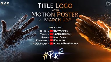 RRR: Ajay Devgn Reveals When They Will Reveal Motion Poster and Title Logo Of This SS Rajamouli Film