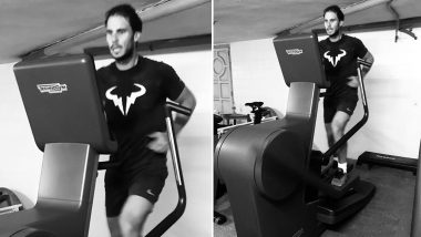 Rafael Nadal Urges Everyone to Stay Fit & Active Even if 'They Are at Home' in Instagram Post
