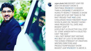 Yeh Rishta Kya Kehlata Hai Producer Rajan Shahi Denies Generation Leap Despite Announcing it Earlier on Instagram (Deets Inside)
