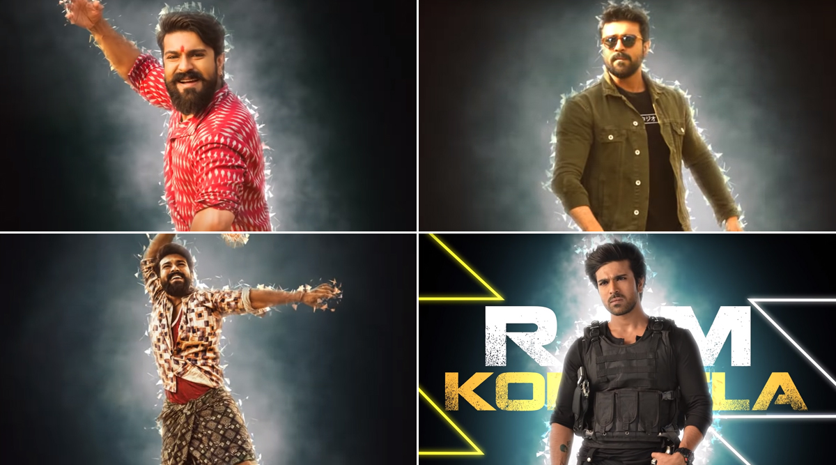 Ram Charan Birthday Song: A Special Number Titled 'Ram Konidela' Released, Dedicated to the Mega Power Star of Tollywood! (Watch Video)