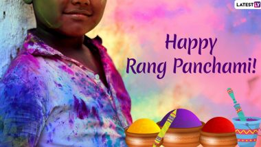 Rang Panchami 2021 Date And Significance: History of The Day Celebrated After Holi