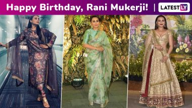 Rani Mukerji Birthday Special: A Sabyasachi Muse; Their Bong Connection Working Like Magic, One Resplendent Ensemble at a Time!