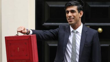 Indian-Origin UK Chancellor Rishi Sunak Unveils His First Budget; Announces 30 Billion Pound Stimulus Package to Combat Coronavirus