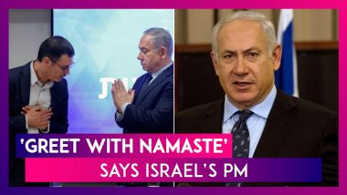 Coronavirus: Israel's PM Benjamin Netanyahu Encourages Israelis To Ditch Handshake & Adopt Namaste