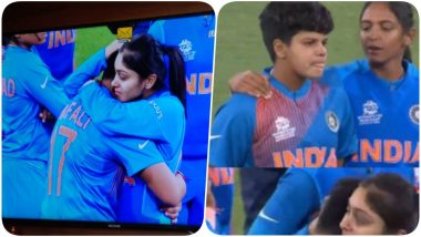 Shefali Verma Consoled by Smriti Mandhana & Others After She Sobs Uncontrollably as India Loses the T20 World Cup 2020 Finals Against Australia (Watch Video)
