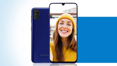 Samsung Galaxy M21 All Set To Be Launched in India Today; Check Expected Price, Features, Variants & Specifications