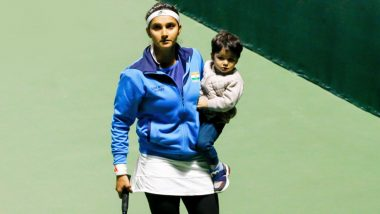 Sania Mirza Shares Heartwarming Picture With Son Izhaan After Securing Fed Cup World Play-Offs Qualification