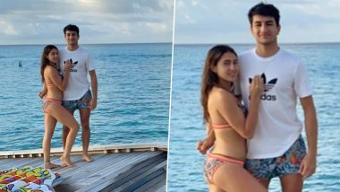 Sara Ali Khan Wishes Brother Ibrahim on His Birthday With Some Hot Pics From Their Maldives Vacation!