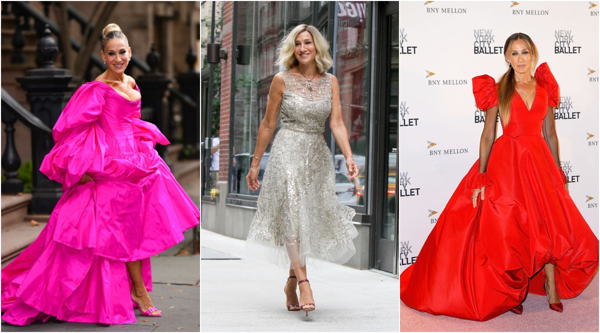 Sarah Jessica Parker Birthday: 5 Fashionable Outings Of the Sex and the City Star That Show Her Dramatic and Playful Side (View Pics)