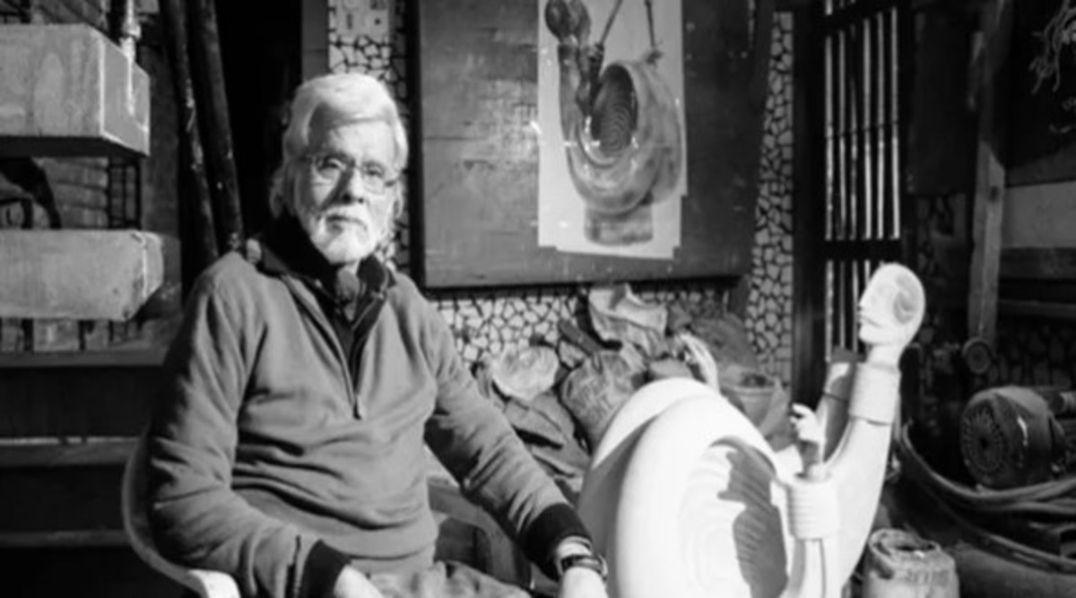 Satish Gujral, One of India's Most Renowned Artists, Dies at 94