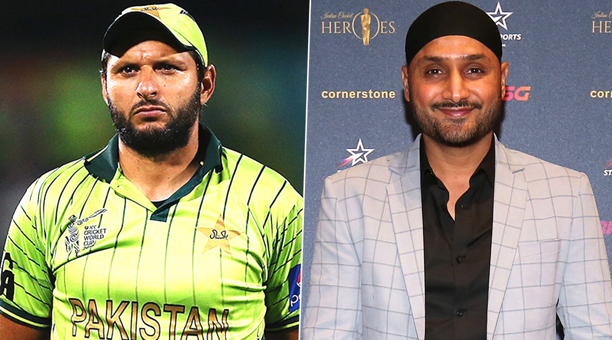 Shahid Afridi Thanks Harbhajan Singh After Indian Cricketer Praises Former Pakistan Captain for Providing Relief to Needy People Amid Coronavirus Crisis