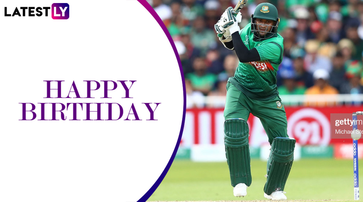 Shakib Al Hasan Birthday Special: Lesser-Known Facts About Bangladesh All-Rounder As He Turns 33