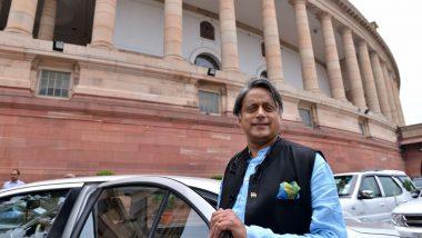 Sansad Ratna Awards 2020: Shashi Tharoor, Vishambhar Prasad Nishad, Supriya Sule Among 10 MPs to Be Conferred With Prestigious Award