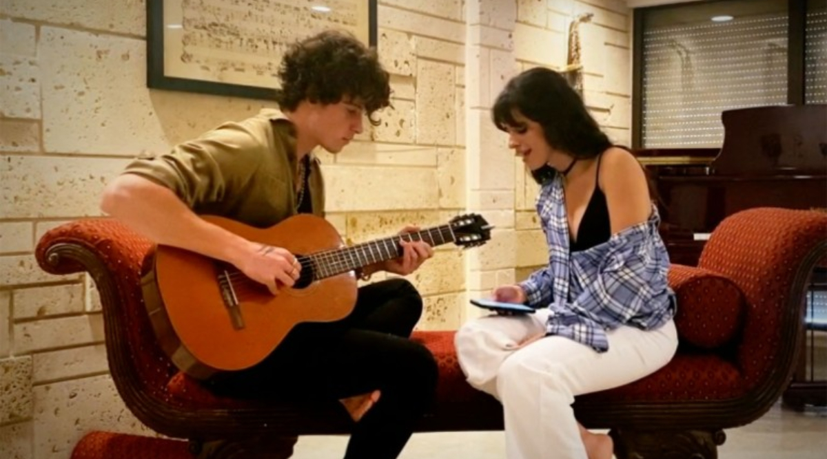 Camila Cabello and Shawn Mendes Send Heartfelt Messages to Healthcare Professionals, Perform 'My Oh My' in Their Living Room Concert (Watch Videos)